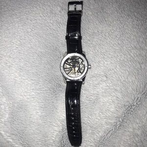 Men's Leather Strap watch
